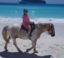 Nancy on horse